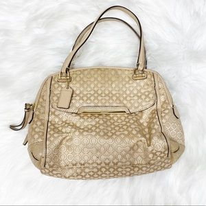 COACH MADISON OP ART PEARLESCENT GEORGIE PURSE